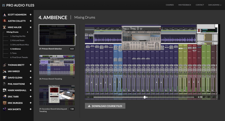 Pro Audio Files On Demand