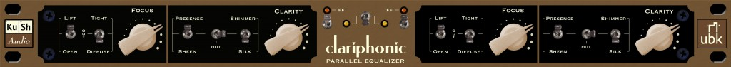 Kush Audio Clariphonic Parallel Equalizer
