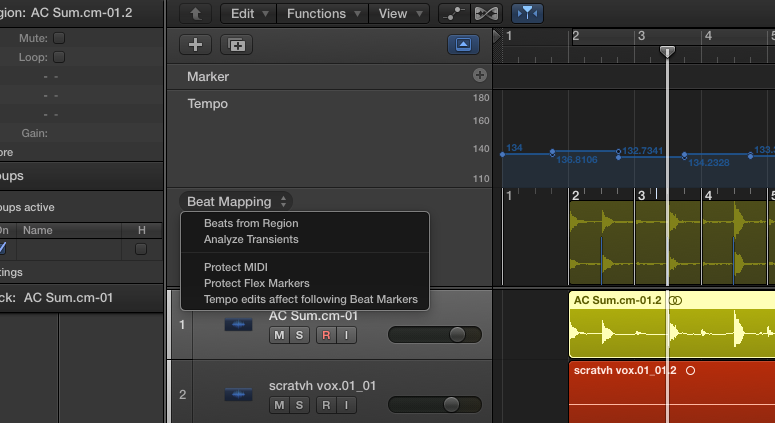 How to Go Click-Free with Beat Mapping in Logic X — Pro Audio Files
