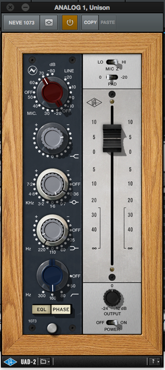 neve preamp