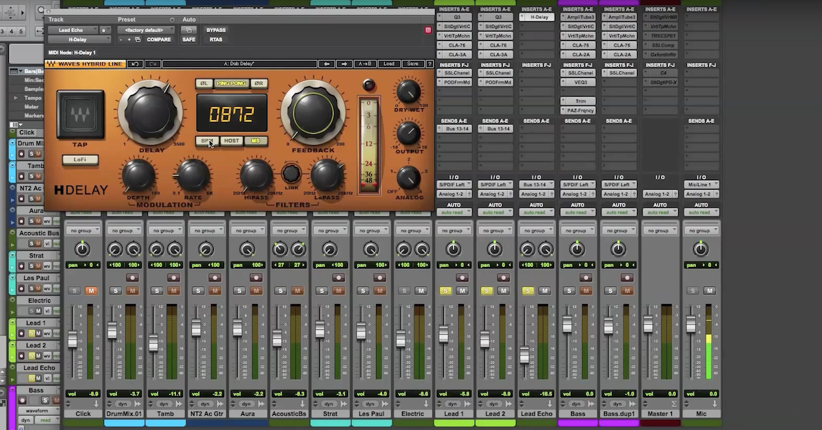 5 Interesting Ways to Use Delay Effects in a Mix — Pro Audio Files
