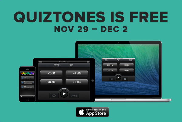 Quiztones for iOS is Free