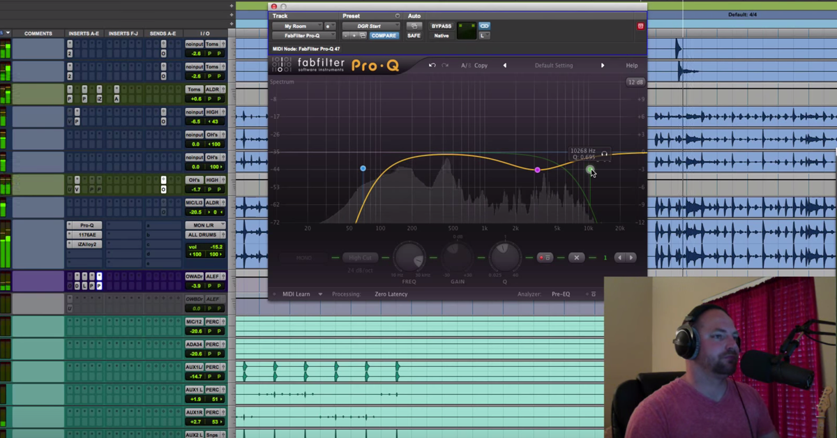 Mixing BFD3 Drums in Pro Tools with iZotope Alloy 2 — Pro