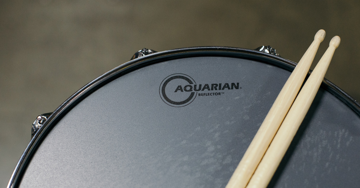 a guide to drumheads in the recording studio pro audio files. Black Bedroom Furniture Sets. Home Design Ideas