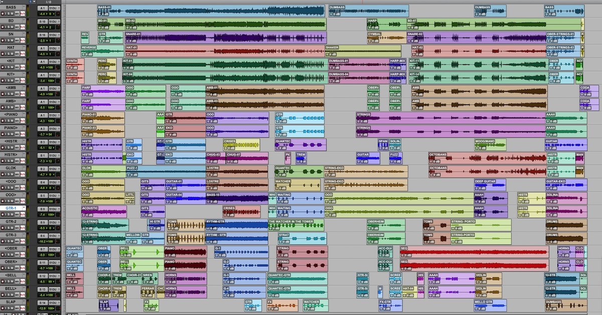 How to Ration Space in a Dense Arrangement — Pro Audio Files