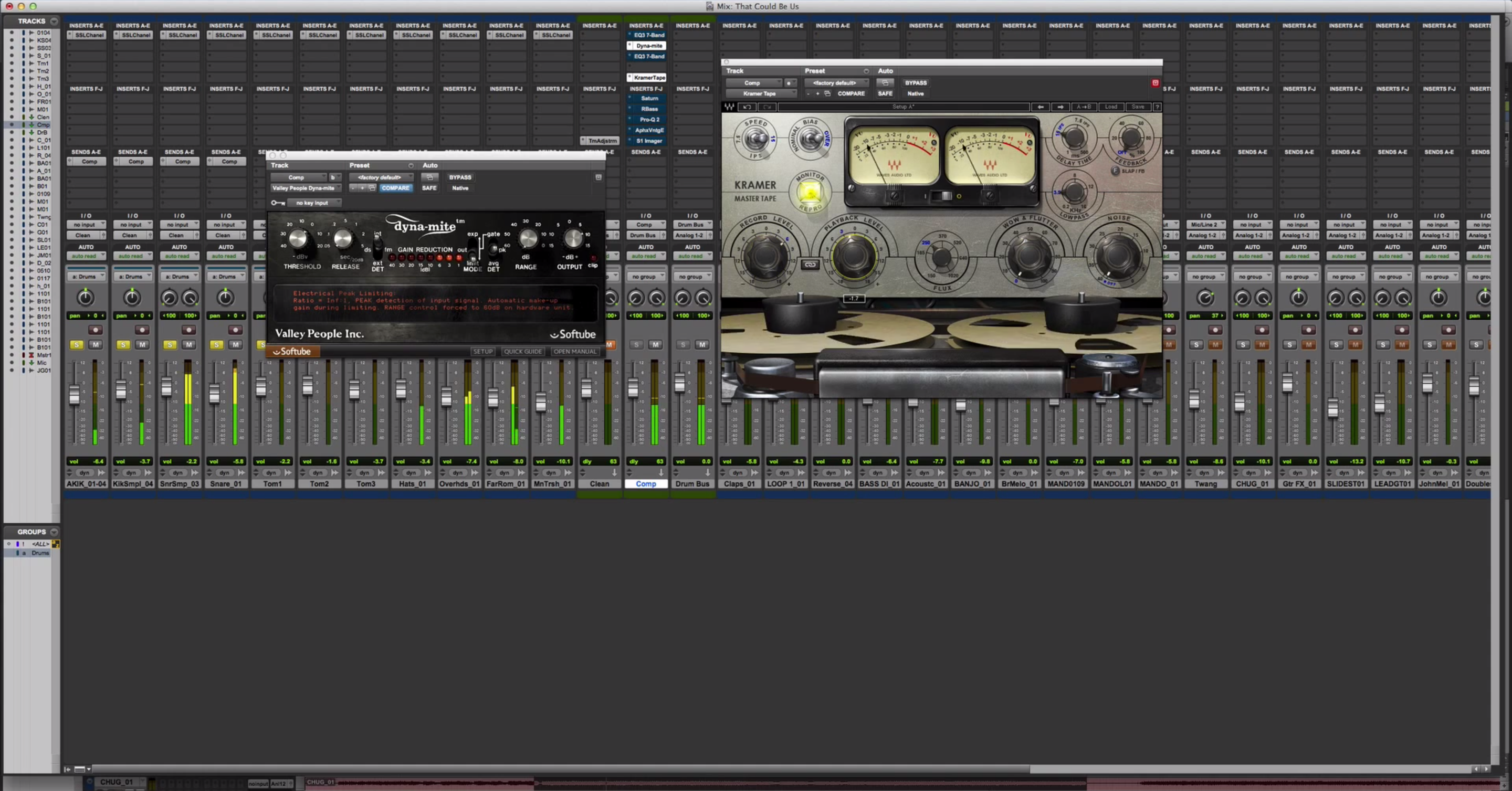 Parallel Processing Drum Buss