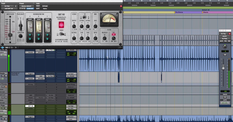 tips for creating rock snare drum reverb pro audio files. Black Bedroom Furniture Sets. Home Design Ideas