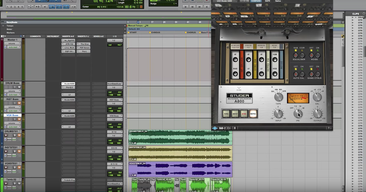 How to Use Tape Saturation to Enhance a Mix — Pro Audio Files