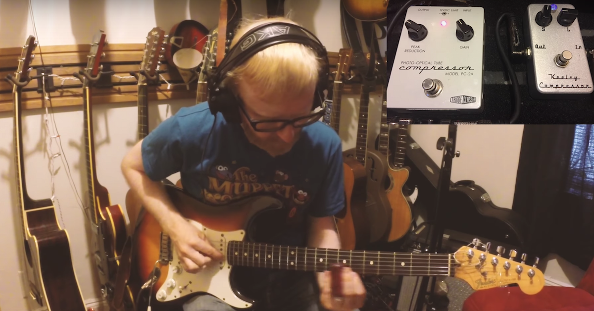 Anatomy of Guitar Tone: Compressors in Series for Slide Guitar — Pro ...