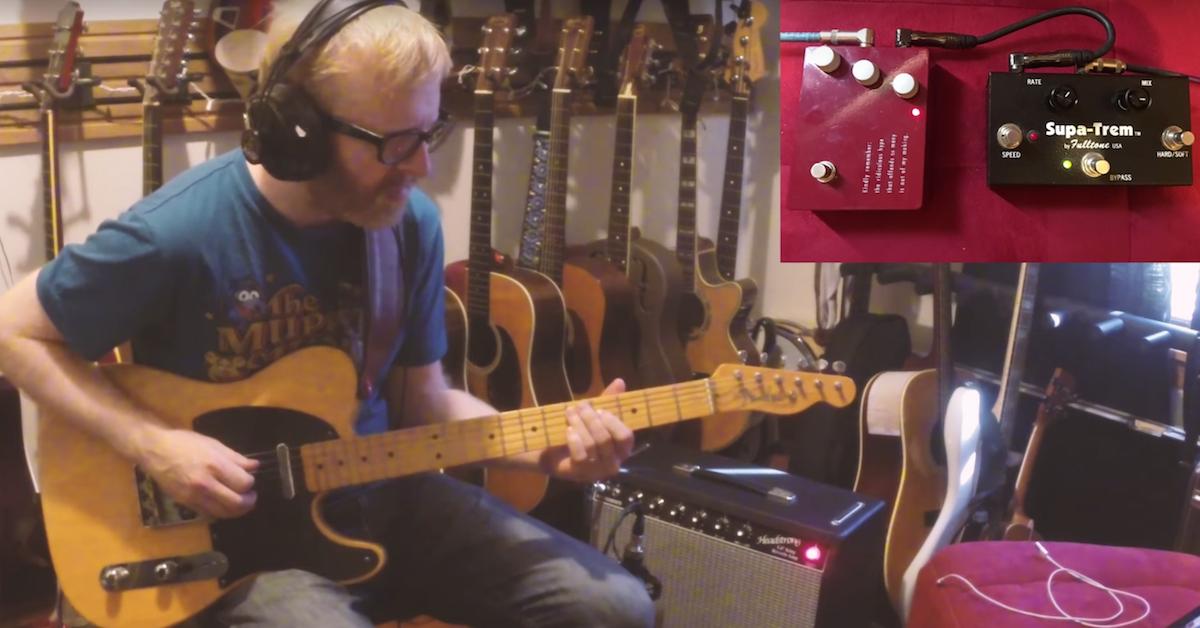 Anatomy Of Guitar Tone Fender Brownface Tremolo Trick Pro Audio Files