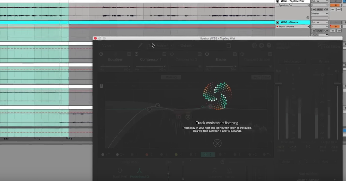 How to Correct Lead Vocal Sibilance in Neutron (Master the Mix: Part