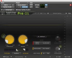 FabFilter's Pro-DS plugin