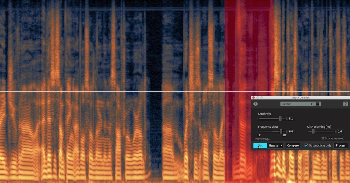RX 6 | Mouth De-click Tutorial — Pro Audio Files