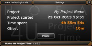 HOFA 4U Project Time