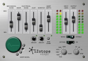 iZotope Vinyl—another one of my favorite free VST plugins!