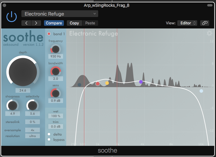 Plugin Review: soothe by oeksound