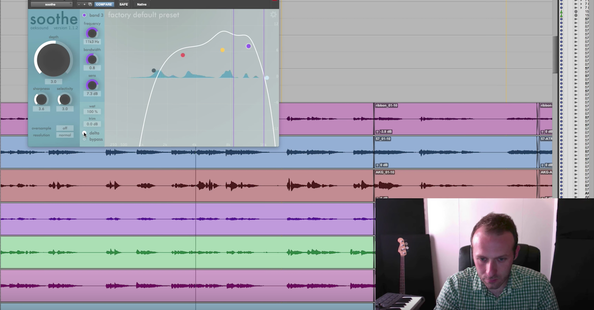 How to Tame Harshness in a Mix with oeksound soothe — Pro Audio Files