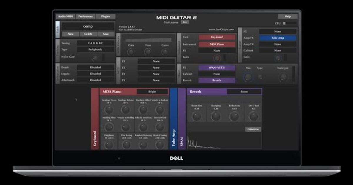 Jam Origin's MIDI Guitar 2 for Live Performance — Pro Audio