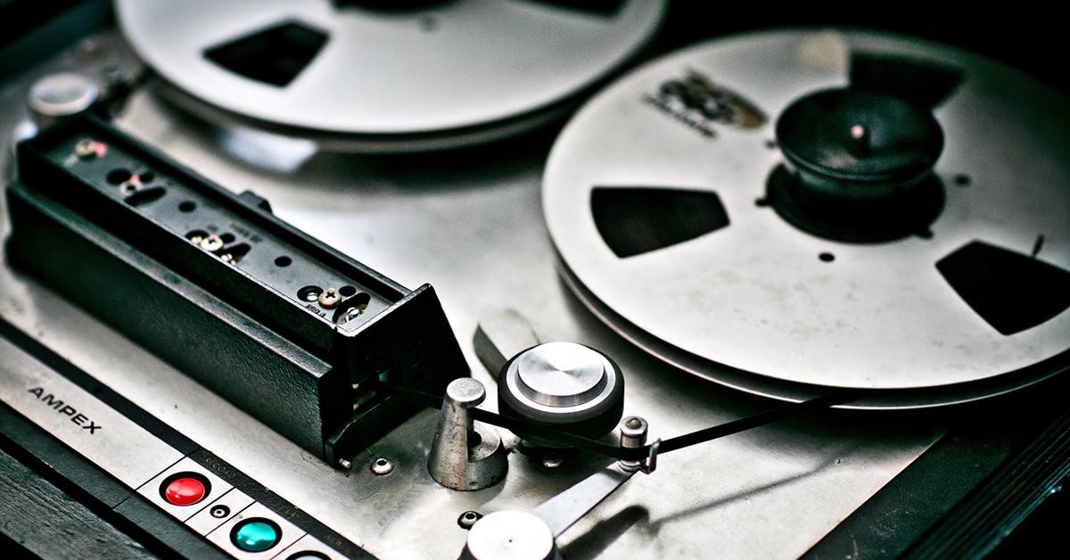Tape Machine Plugins 101 — Saturation, Speed, Type