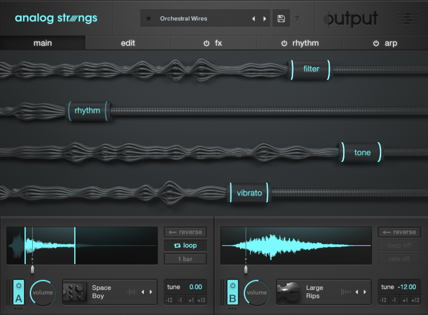 Review: Analog Strings by Output