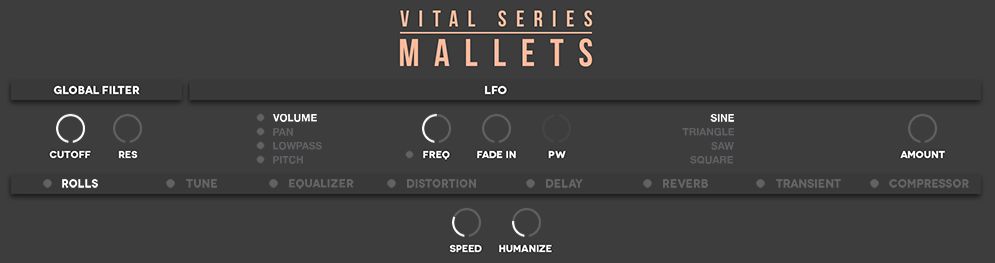Review: Vital Series: Sticks and Mallets by Vir2