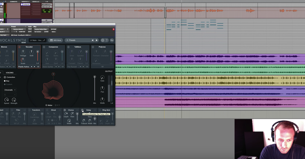How to Create a Vocoder Effect with iZotope VocalSynth — Pro
