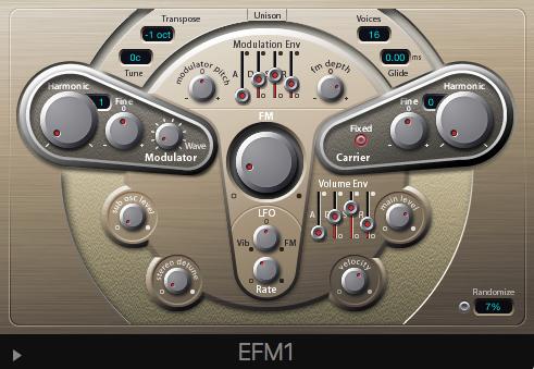 Logic Pro's EMF1