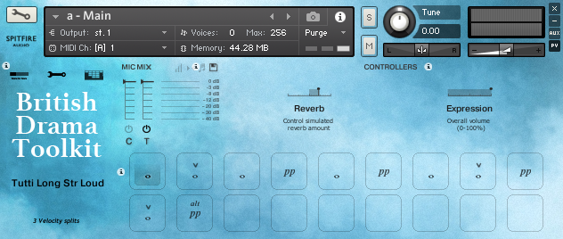 Review: British Drama Toolkit by Spitfire Audio