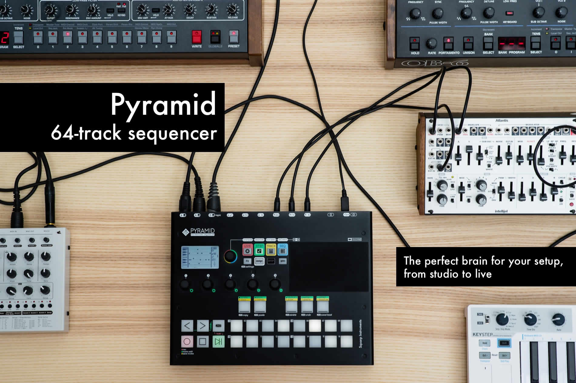 Review: Pyramid mk2 Sequencer by Squarp