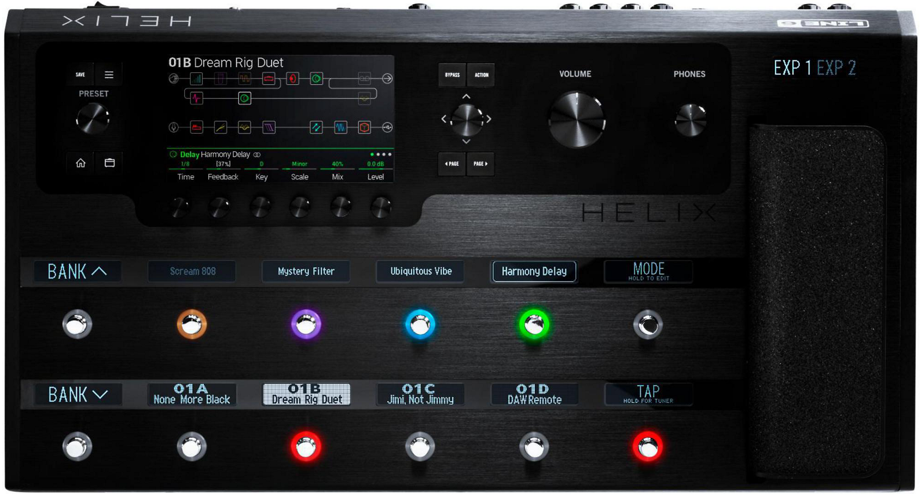 Line 6 Helix Guitar Processor [REVIEW] — Pro Audio Files