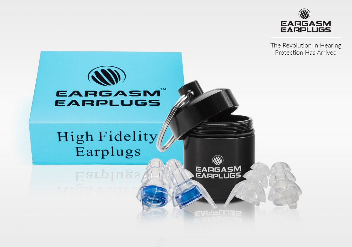 6 Earplugs for Musicians, Engineers and Concert-Goers