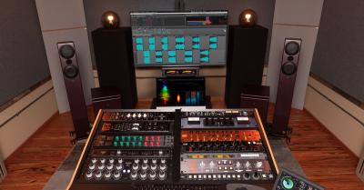 music mastering studio