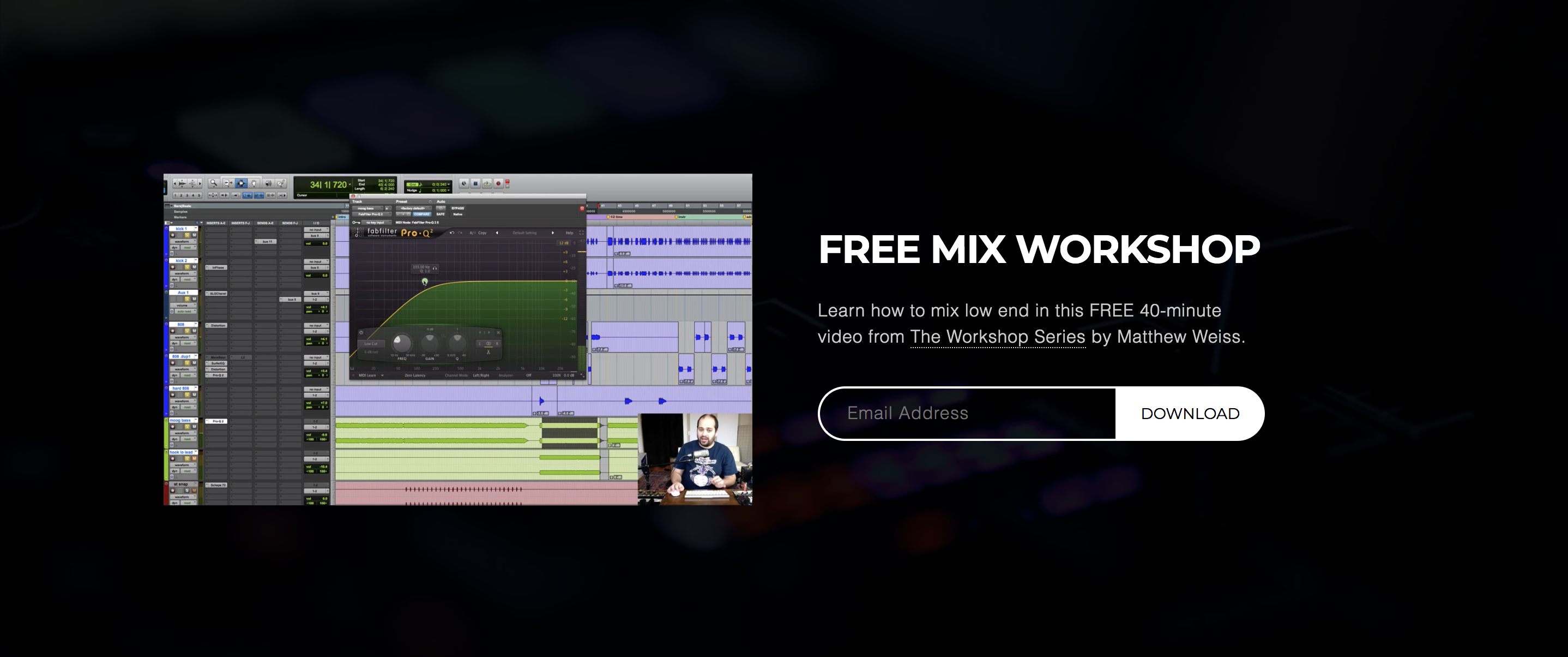 mixing low end workshop
