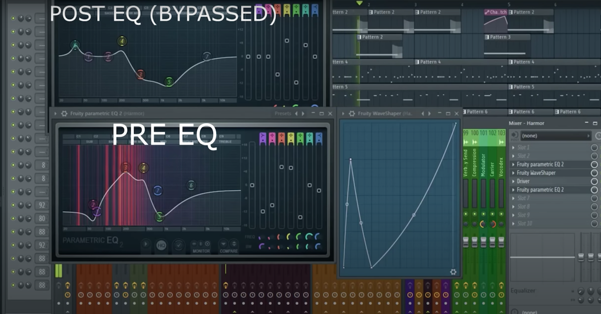 EQ in Fruity Loops.