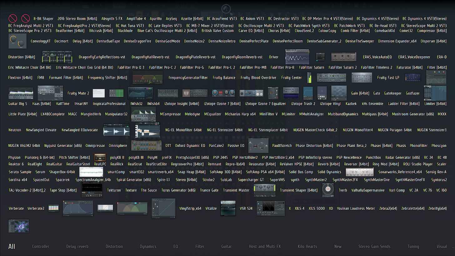 FL Studio Plugin Picker