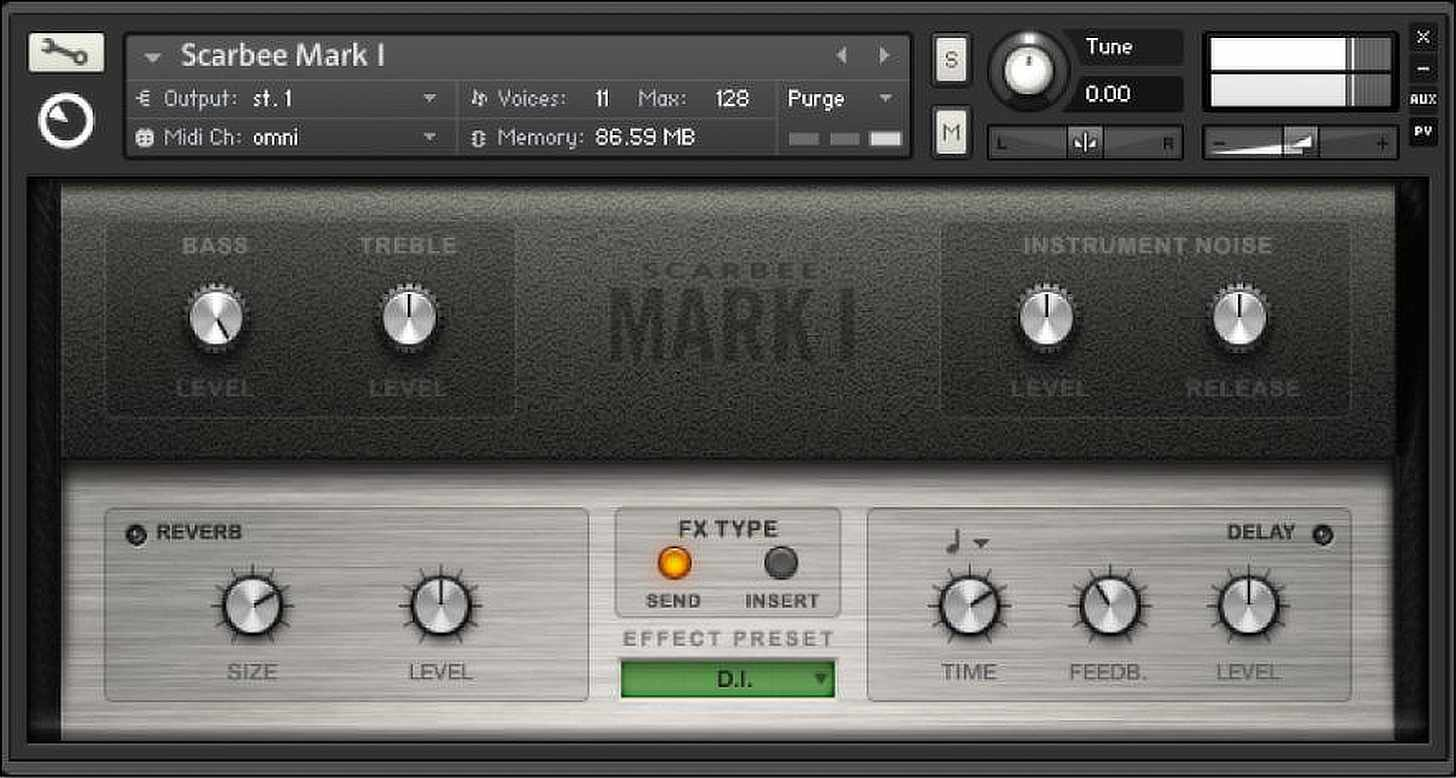 Native Instruments/Scarbee Mark 1