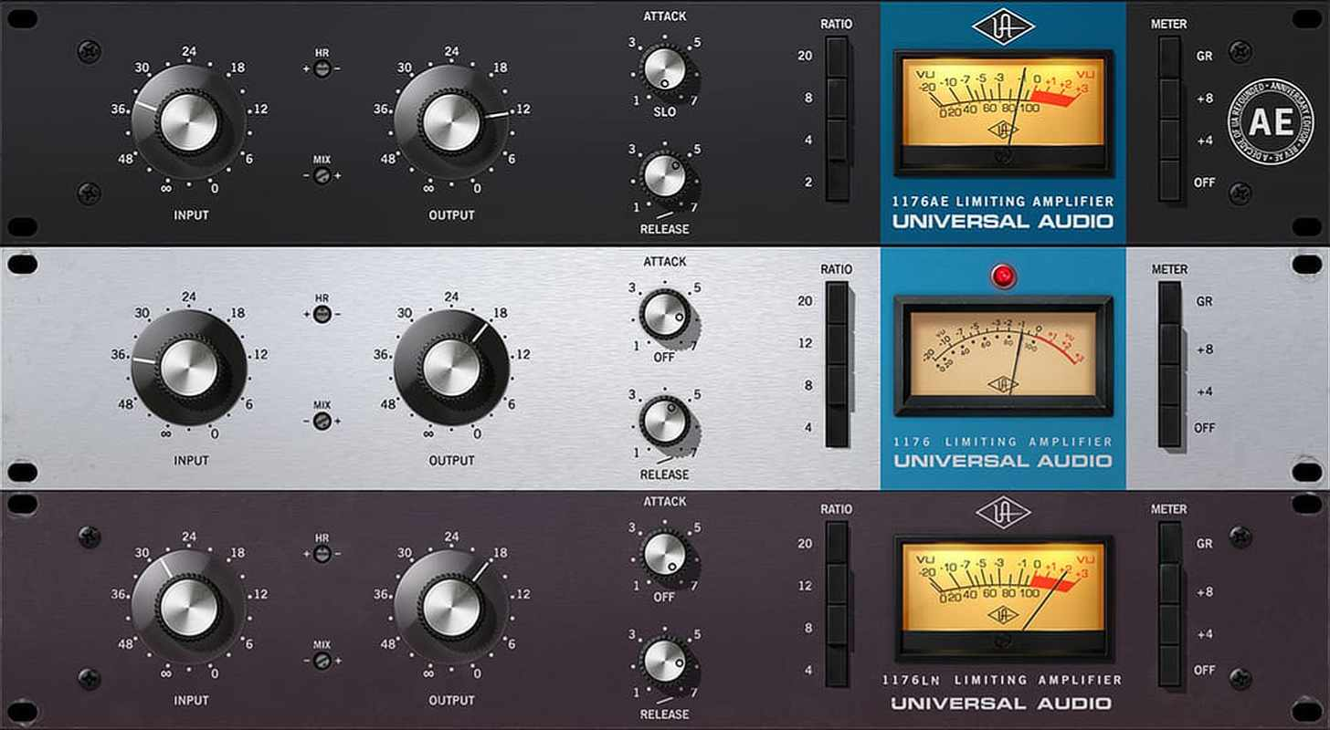UA 1176 Classic Limiter Collection