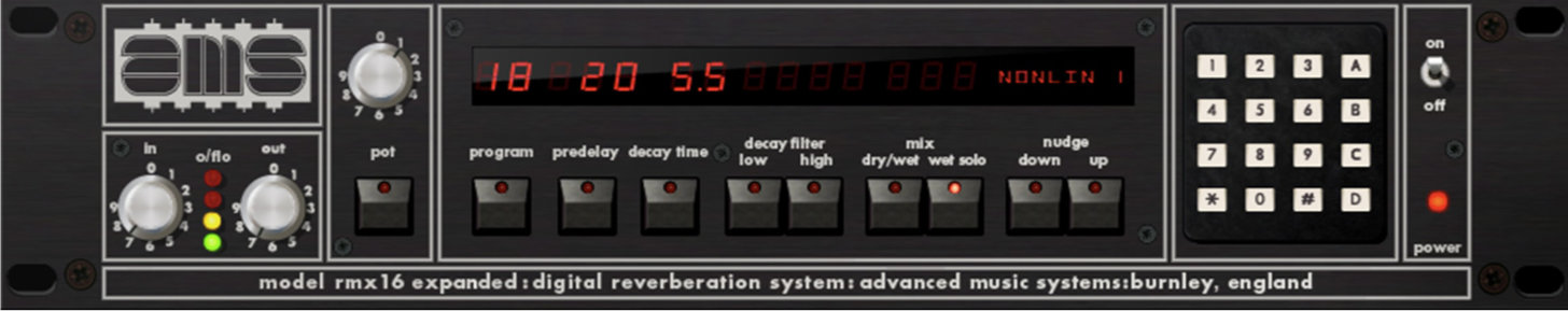 UAD AMS RMX 16 Expanded