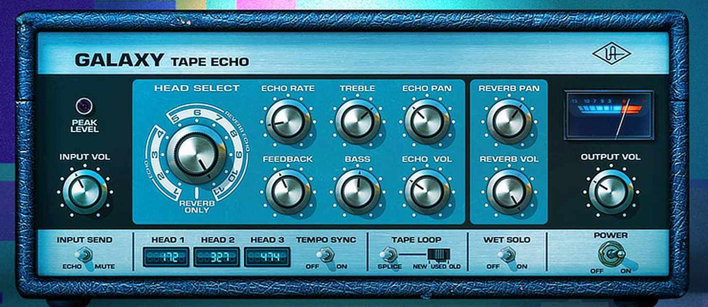 UAD Galaxy-tape-echo