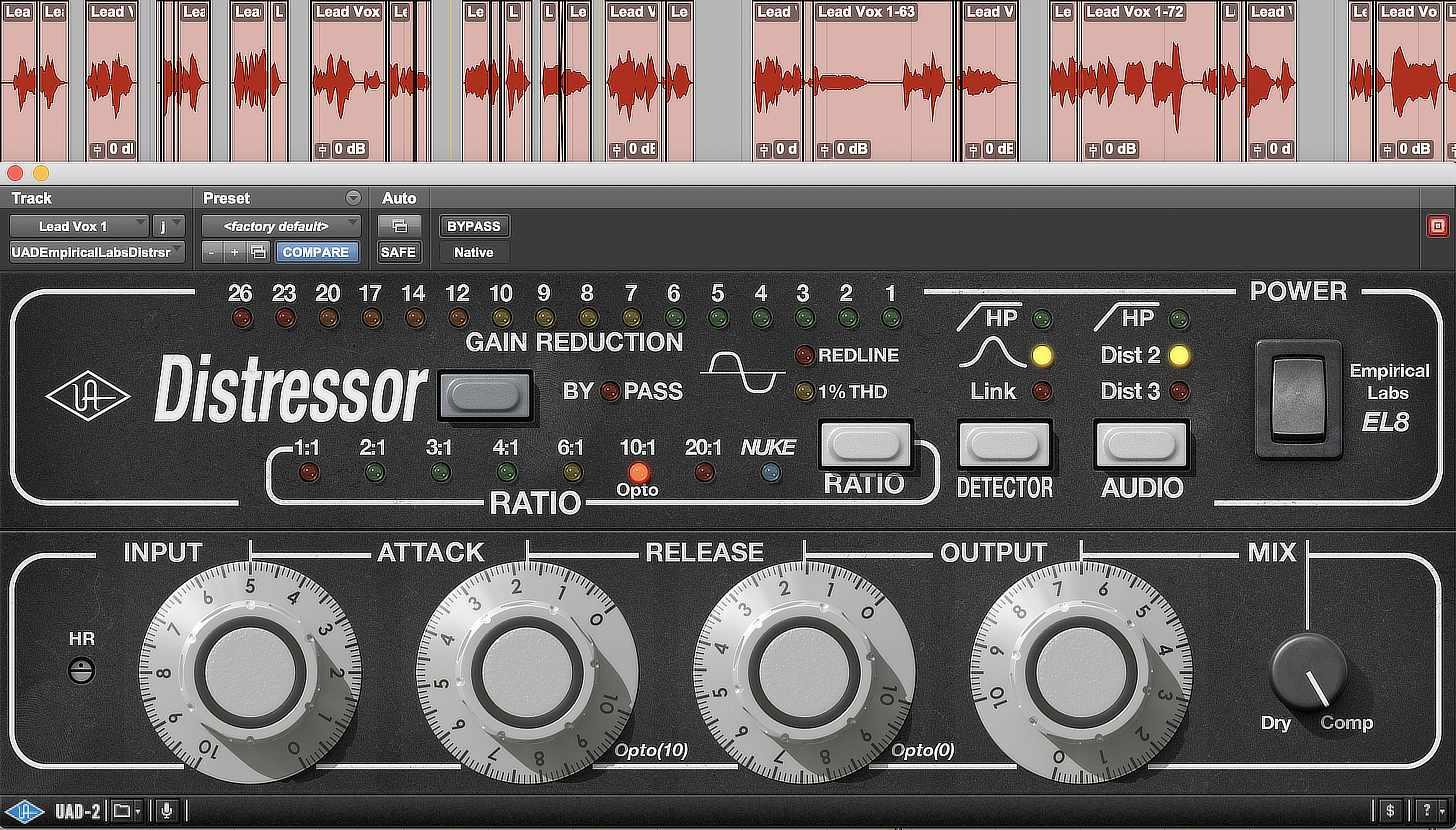 Universal Audio Empirical Labs Distressor