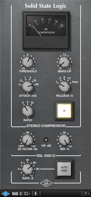 UAD SSL Buss Compressor