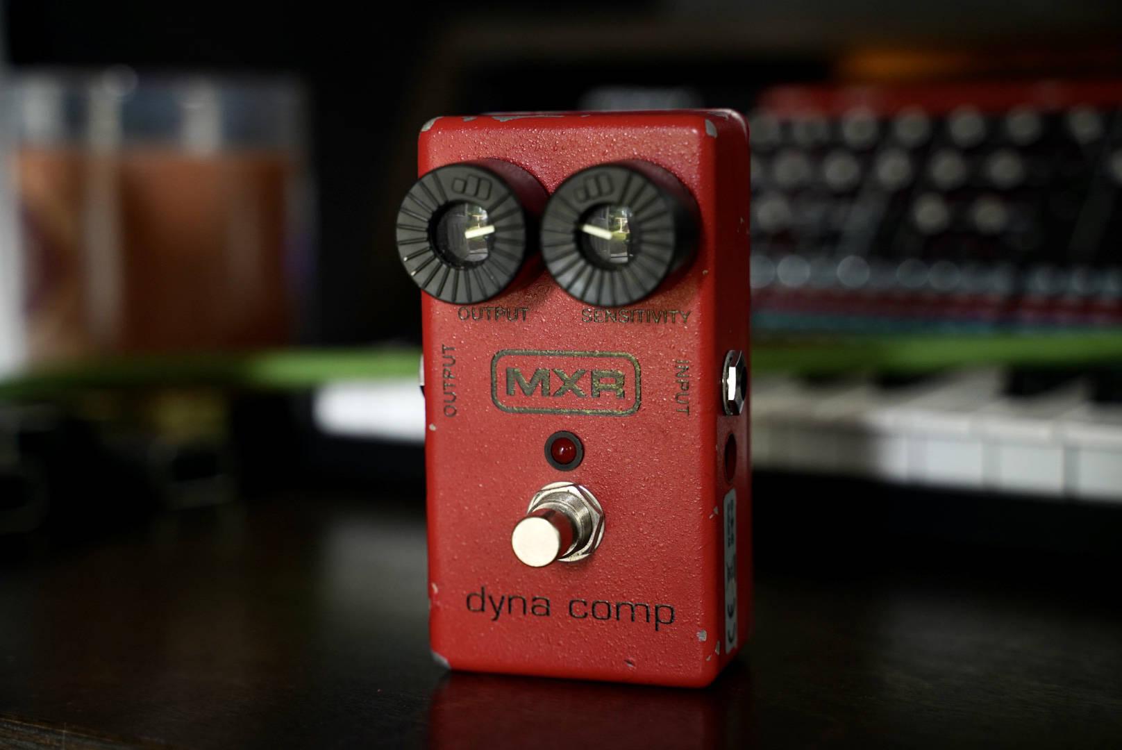 """My """"busted"""" MXR Dynacomp"""